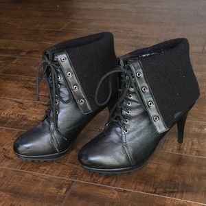 80s Vibe Heel Boots